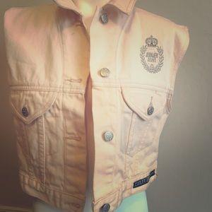 Vintage RARE Jeanjer Jordache Crop Street Jacket